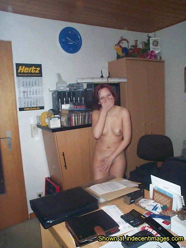 Caught Nude At Work